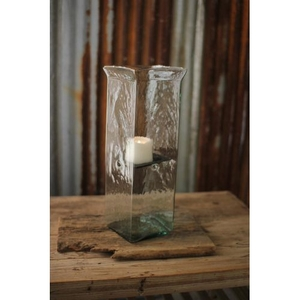Square Candle Hurricane - Large 6X6X19