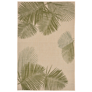 Terrace Palm Green Indoor Outdoor Rug