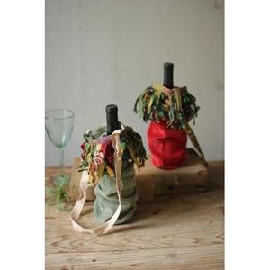 Velvet Wine Bags - Each, Set of 6