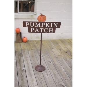 "Metal ""Pumpkin Patch"" Sign"