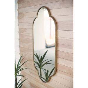 Large Metal Framed Mirror