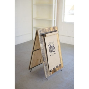 Recycled Wood Sandwich Board