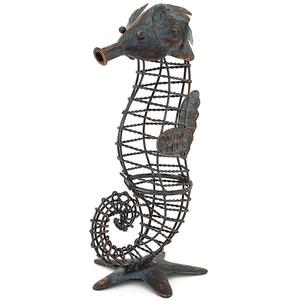 Seahorse Wine Cork Cage