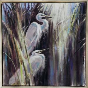 Shore Birds Framed Wall Canvas Art