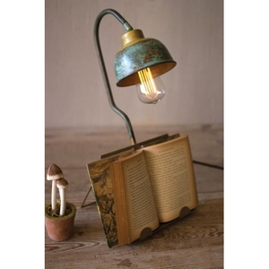 Table Lamp With Book Holder