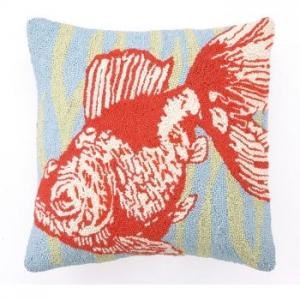 Goldfish Blue Hook Pillow