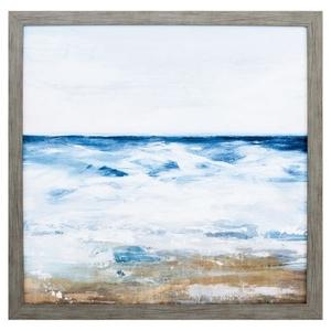 Ocean Ii Framed Beach Wall Art