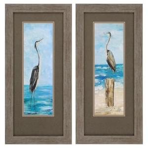 Seaside Set of 2 Framed Beach Wall Art