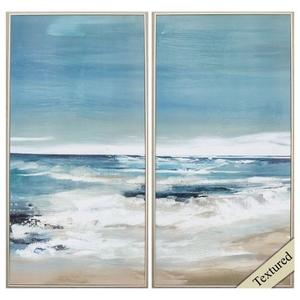 East Coast Set of 2 Framed Beach Wall Art