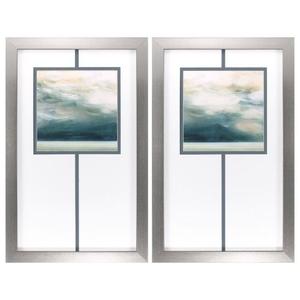 Ocean Breeze Set of 2 Framed Beach Wall Art