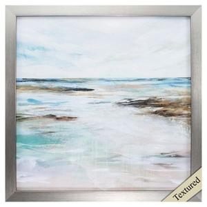 Midnight Clear I Framed Beach Wall Art