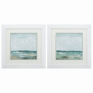 Cape Cod Set of 2 Framed Beach Wall Art