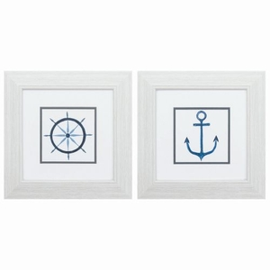 Sailing Set of 2 Framed Beach Wall Art