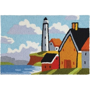 "Lighthouse Bluff Indoor/Outdoor Rug, 20"" X 30"""