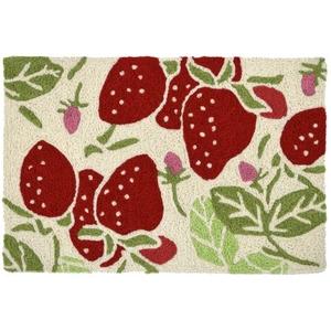 """Strawberry Fields Indoor/Outdoor Rug, 20"""" X 30"""""""