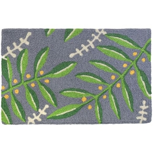 "Budding Ferns Indoor/Outdoor Rug, 20"" X 30"""