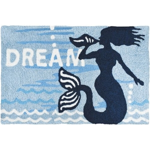 """Mermaid Dream Indoor/Outdoor Rug, 20"""" X 30"""""""