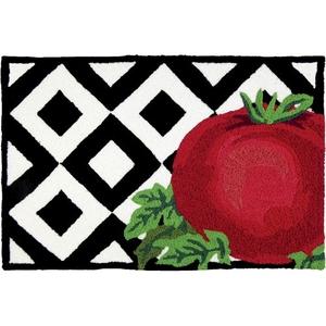 "Tomato On Tile Indoor/Outdoor Rug, 20"" X 30"""