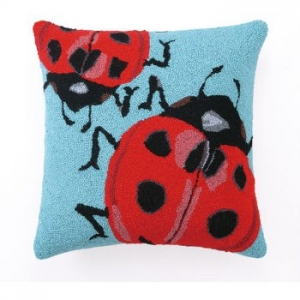 Lady Bug Hook Pillow
