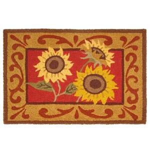 """Provence Sunflowers Indoor/Outdoor Rug, 20"""" X 30"""""""