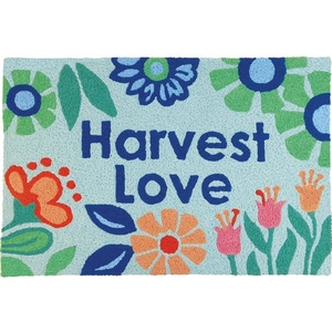 """Harvest Love Indoor/Outdoor Rug, 20"""" X 30"""""""