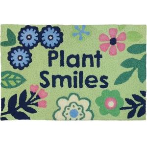 """Plant Smiles Indoor/Outdoor Rug, 20"""" X 30"""""""