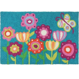 "Be Happy Garden Indoor/Outdoor Rug, 20"" X 30"""
