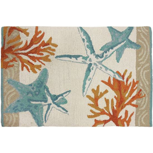 Coastal Reef Accent Rug / Indoor Doormat