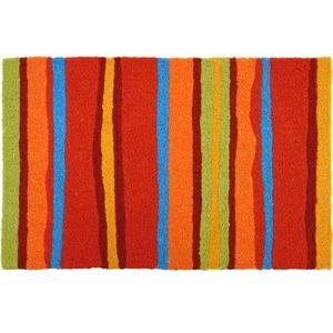 """Fiesta Stripes Indoor/Outdoor Rug, 20"""" X 30"""""""