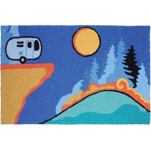 "The Road Less Traveled Indoor/Outdoor Rug, 20"" X 30"""