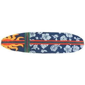 """Surfboard Hawaiian Navy Indoor Only Rug, 22"""" X 34"""""""