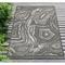 "Liora Manne Carmel Agate Indoor/Outdoor Rug Grey 7'10""X9'10"""
