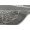 "Liora Manne Carmel Shells Indoor/Outdoor Rug Grey 7'10"" RD"