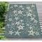 "Liora Manne Carmel Starfish Indoor/Outdoor Rug Teal 7'10""X9'10"""