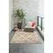"""Liora Manne Carmel Vintage Floral Indoor/Outdoor Rug Sand 4'10""""X7'6"""""""