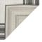 "Liora Manne Carmel Multi Border Indoor/Outdoor Rug Grey 7'10"" SQ"