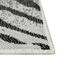 """Liora Manne Carmel Zebra Indoor/Outdoor Rug Grey 4'10""""X7'6"""""""