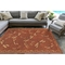 "Liora Manne Carmel Dragonfly Indoor/Outdoor Rug Red 4'10""X7'6"""