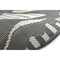 "Liora Manne Carmel Dragonfly Indoor/Outdoor Rug Grey 4'10""X7'6"""