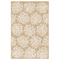 "Liora Manne Carmel Coral Indoor/Outdoor Rug Sand 7'10"" RD"