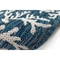 "Liora Manne Carmel Coral Indoor/Outdoor Rug Navy 23""X7'6"""