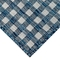 "Liora Manne Carmel Gingham Indoor/Outdoor Rug Navy 23""X7'6"""