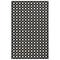 """Liora Manne Carmel Gingham Indoor/Outdoor Rug Black 39""""X59"""""""