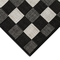"Liora Manne Carmel Gingham Indoor/Outdoor Rug Black 7'10"" SQ"