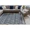 """Liora Manne Carmel Marrakech Indoor/Outdoor Rug Navy 6'6""""X9'4"""""""