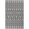 """Liora Manne Carmel Marrakech Indoor/Outdoor Rug Grey 23""""X7'6"""""""