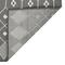 "Liora Manne Carmel Marrakech Indoor/Outdoor Rug Grey 7'10"" SQ"