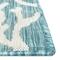 "Liora Manne Carmel Coral Border Indoor/Outdoor Rug Aqua 8'10""X11'9"""