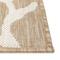 "Liora Manne Carmel Coral Border Indoor/Outdoor Rug Sand 23""X7'6"""