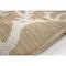 "Liora Manne Carmel Coral Border Indoor/Outdoor Rug Sand 4'10""X7'6"""